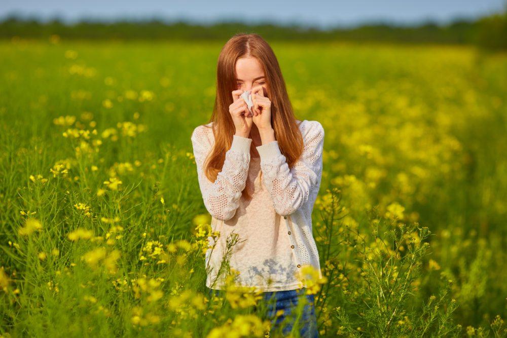 花粉症改善にミドリムシの摂取が効果あり?